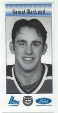 Daniel MacLeod 2000 QMJHL All-Star Program Inserts