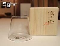 Fujisan Sghr Sugahara GLASSWARE Mt Fuji Fujiyama Beer Glass 280ml MADE IN JAPAN