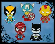 Marvel DC metal & enamel pins / pin badge buy 1 or set of 5 Batman, Spiderman