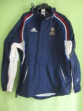Veste Equipe France Adidas Vintage Jacket Homme coupe vent Football 90'S - 180