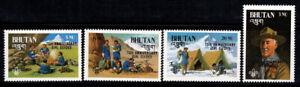 Bhoutan 1986 Mi. 990-994 Neuf ** 100% Scout
