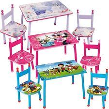 Kinder Sitzgruppe Kindersitzgruppe Holz Stuhl Tisch Minnie Paw Patrol ab 47,90?