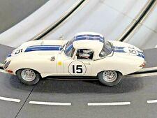 Revell 1/32 slot car- Jaguar E Type 1963 Le Mans #7- 2004 issue -Mint! Silicone