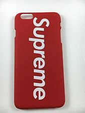 Apple IPhone 7 Plus Red Supreme Back Hard Case USA SELLER! FREE SCREEN PROTECTOR