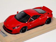 1/18 Ferrari 458 Liberty Walk LB Performance in Red with wheels B N BBR or MR