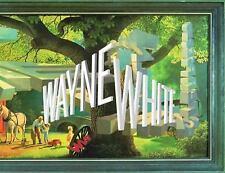 WAYNE WHITE - WHITE, WAYNE (ART)/ OLDHAM, TODD (EDT) - NEW HARDCOVER BOOK
