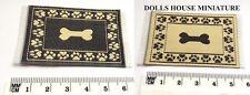 Reversible Small Door Mat 65mm x 35mm, Dolls House Miniature, Mats & Rugs