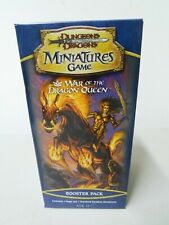 D&D Dungeons Dragons Booster Pack War Of The Dragon Queen Factory Sealed