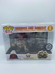 Funko Pop Overwatch Blizzard Exclusive Roadhog and Junkrat 2 Pack