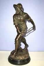 Joseph Bofill Bronze Sculpture FISHERMAN??  14'' H