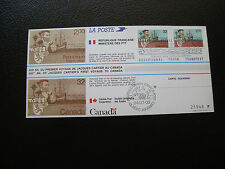 FRANCE/CANADA  - document 1984 (jacques cartier) (cy74)