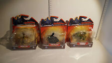 (Lot 564) Spin Master - Dragons Defenders of Berk - set of 3 dragons