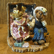 """Boyds Bearstones #228354 MARGARET w/ KRISTEN...THERE GOES THE BUDGET, 4"""" NIB"""