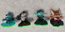 Complete Skylanders Spyro's Adventure sidekicks mini set. Gill Runt, whisper elf