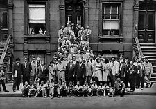 A Great Day in Harlem # 10 - 8 x 10 Tee Shirt Iron On Transfer 1958 Jazz Greats