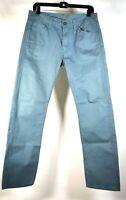 Levis Jeans 513 Teal Blue Pants 30 x 30 Mens