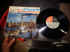 Ancien Disque 33t Port de Marseille André Verchuren Vincent Scotto