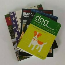 New Dog Training and Support Book Lot - Lot of 5 books