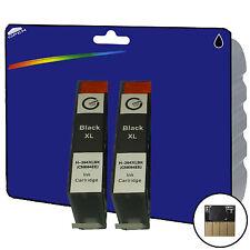 2 Black non-OEM 364 Ink for HP C309g C309h C309n C310a C309a C309c C410b