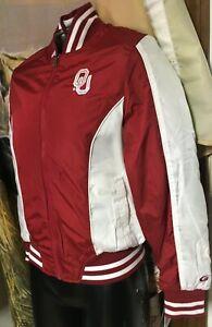 NWT new $84 G-III OU Oklahoma Sooners Reversible Zip Jacket Ladies Women S Small