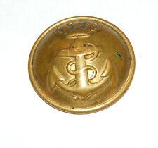 "Antique Military 6 3/4"" Hat Pin Lucas Saenz Madrid Anchor Crown Navy Spain J4"