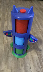 3 PJ Masks Toy Transforming Tower TOTEM STYLE Catboy Owlette Gekko No Figures