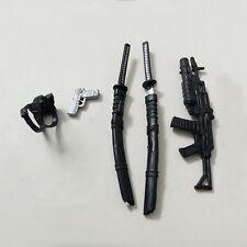 X-Men Gun Weapons For Marvel X-Men Deadpool Action Figure Weapons Pack 5pcs/Set