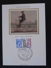 bicycle cycling history penny farthing maximum card 75253