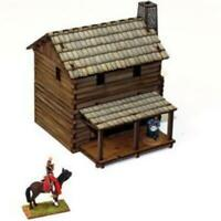 4Ground Terrain 28mm New England Loft Cabin (Pre-Painted) Pack New