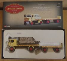 CORGI 80002 VINTAGE GLORY Sentinel Wagon avec remorque & Sacks Ltd 0002 de 6000