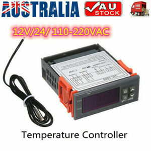 Digital Temperature Thermostat STC-1000 Controller 12V-220V Heating Cooling LCD