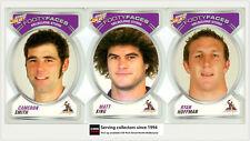 2006 Select NRL Accolades Trading Cards Base Card Team Set Eels (10)