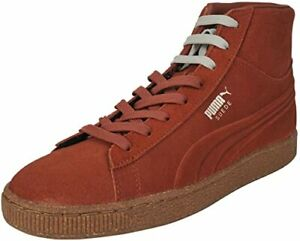 Puma Men's Arabian Spice & Oatmeal Suede with Mixed Rubber Shoes US  7.5 D (M)