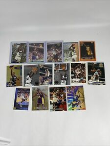 Lot of(15)ShaquilleONeal fleer metal RC topps UD skybox fleer bowman inserts#736