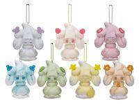 All 7 TYPES of Alcremie, Pokemon Center Mascot Plush Toy, Mawhip a la mode
