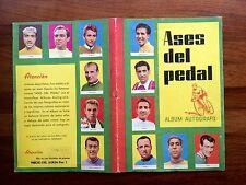 Álbum Cromos Ases Del Pedal Autografo  Año 1960 Bobet Koblet Poblet Bahamontes