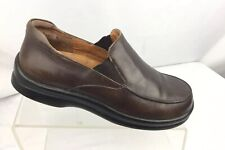 Birkenstock Footprints Brown Slip On Pavia Loafers 38 7/7.5 Made in Germany