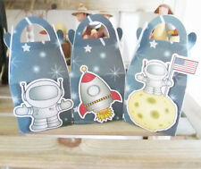 SPACE LOLLY PARTY FAVOUR BOXES KIDS BIRTHDAY LOLLY LOOT BAG SUPPLIES DECORATIONS