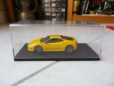 Ferrari 430 Scuderia Yellow Hotwheels Elite 1/43 Miniature avec boite