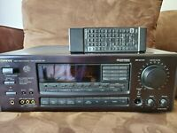 ONKYO AV CONTROL TUNER AMPLIFIER TV-SV717PRO W/REMOTE    POWERS ON REMOTE TESTED