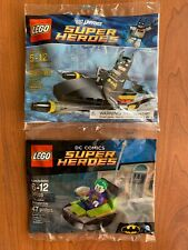 LEGO Batman Water Jet 30160 And Joker Bumper Car 30303 Polybag Set NEW