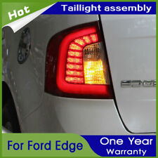 Car LED Taillights Assembly For Ford Edge 2011-2014 Red LED Rear lights