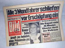 Bildzeitung vom 27.12.1968 * Raumfahrt * zum 48. 49. 50. Geburtstag