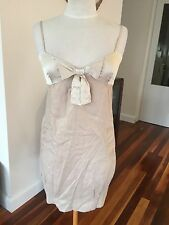 Magali Pascal Linen & Silk Bubble Dress - Size S (8)