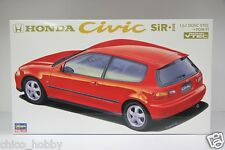 Hasegawa CD-6 24006 1/24 JDM Honda Civic SiR II EG6 B16A DOHC VTEC Model Kit JPN