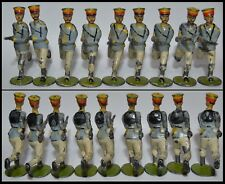Britains Pre-War Lot of *10* Set #134 Japanese Infantry (ca. 1904)