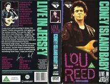 LOU REED Coney Island Baby Live in Jersey VHS Video