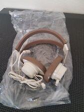 TELEX 610 Dual Headphones - BRAND NEW - VINTAGE - 1/4 INCH INPUT