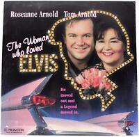 WOMAN WHO LOVED ELVIS Sealed LASERDISC 90s Roseanne Barr Tom Arnold TV Movie LD