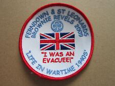 Ferndown & St Leonards Brownie Revels 2009 Girl Guides Cloth Patch Badge (L3K)